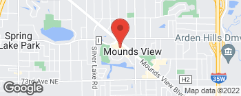 Map of 2552 Mounds View Blvd in Saint Paul