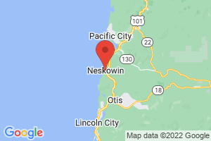 Map of Neskowin