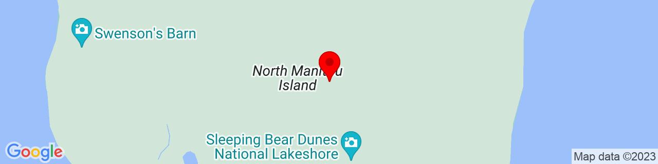 Google Map of 45.1077919006348, -86.0129470825195