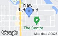Map of New Richmond, WI