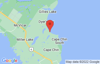 Map of Dyers Bay