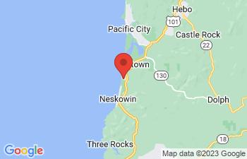 Map of Neskowin
