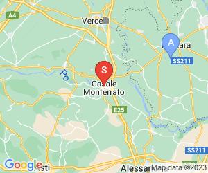 Karte für Museo Civico e Gipsoteca Bistolfi