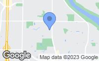 Map of Minneapolis, MN