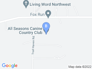 Map of All Seasons Canine Country Club Dog Boarding options in Corcoran | Boarding