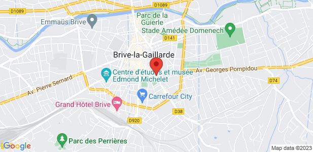 Terrain industriel de 5000 m² à vendre - Brives-la-Gaillarde (19)