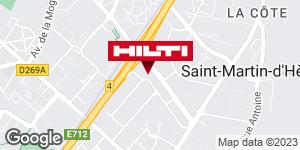 Hilti Store chez Point P - Chambéry / La Ravoire