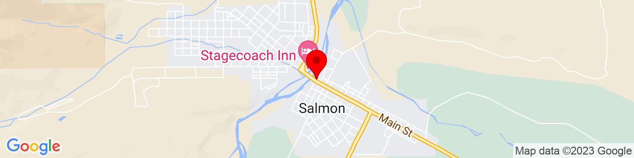 Google Map of 45.1770454, -113.8968607