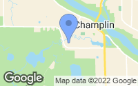 Map of Champlin, MN