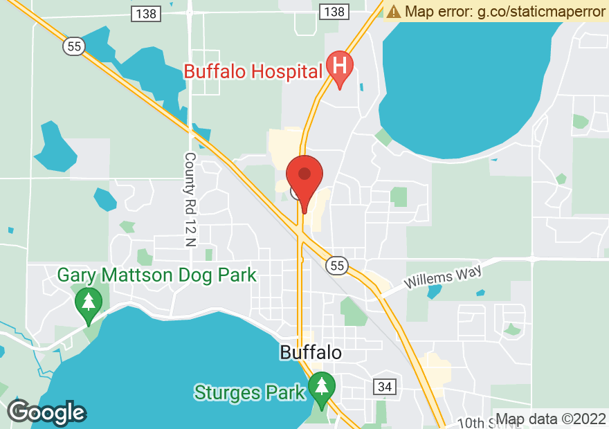 Google Map of 1002 HIGHWAY 25 N