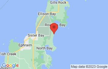 Map of Sister Bay