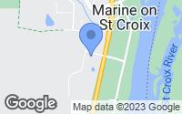 Map of Marine on Saint Croix, MN