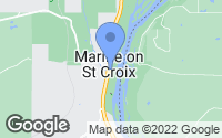 Map of Marine on Saint Croix, MN