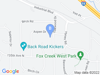Map of Pawtastic! Pet Care LLC Dog Boarding options in Rogers | Boarding