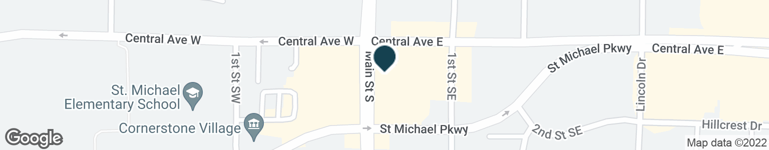 Google Map of9 CENTRAL AVE E