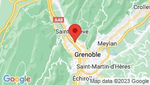 Carte de localisation du centre de contrôle technique SAINT MARTIN LE VINOUX