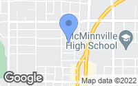 Map of McMinnville, OR