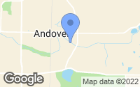 Map of Andover, MN