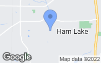 Map of Ham Lake, MN