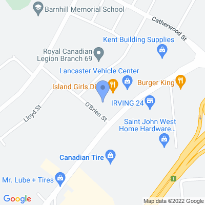 Brilliant Smokeshop  - Saint John Map