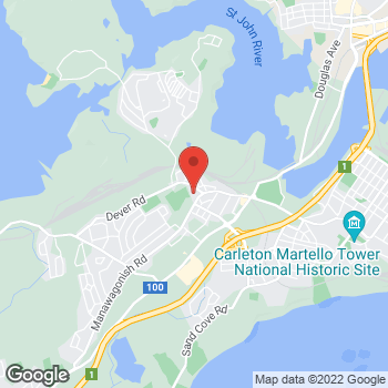 Map of Tim Hortons at 640 Manawagonish Rd, Saint John, NB E2M 3W5
