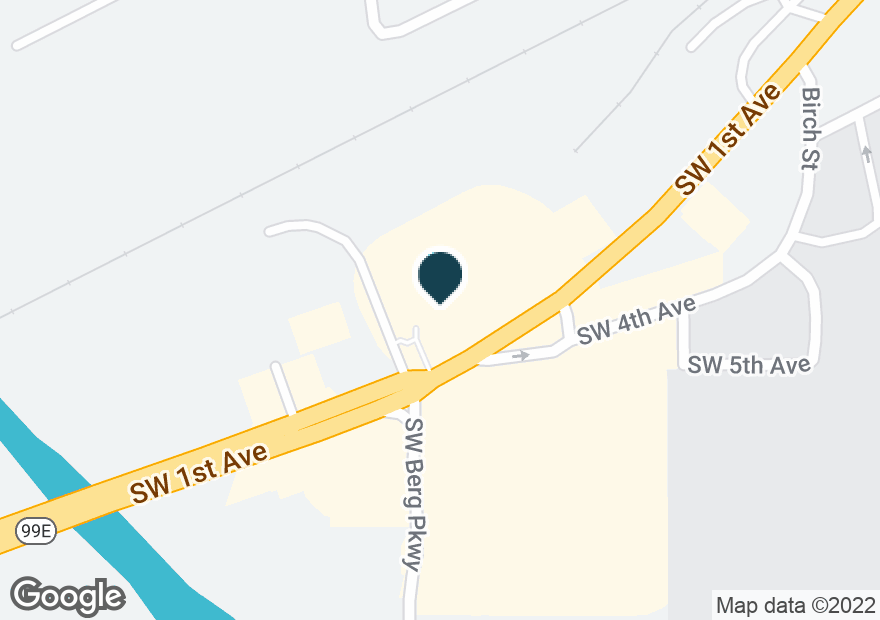 Google Map of1080 SW 1ST AVE