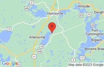 Map of Huntsville