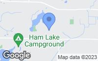 Map of Ham Lake, MN