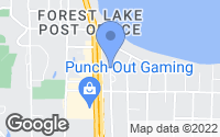 Map of Forest Lake, MN