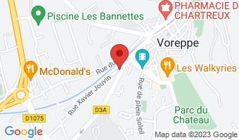 9 rue Xavier Jouvin 38340 Voreppe