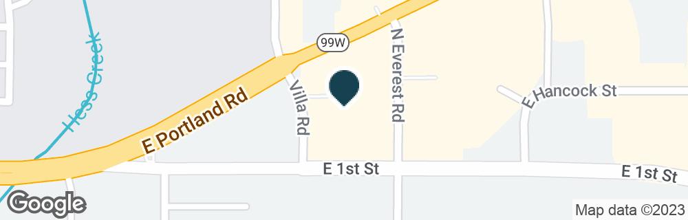 Google Map of1840 PORTLAND RD