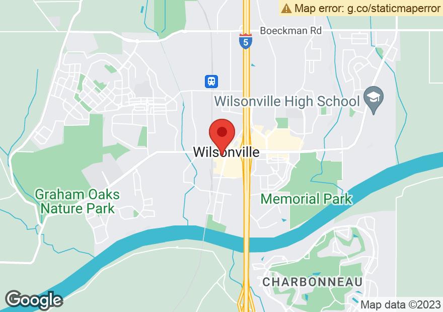 Google Map of 9450 SW WILSONVILLE RD