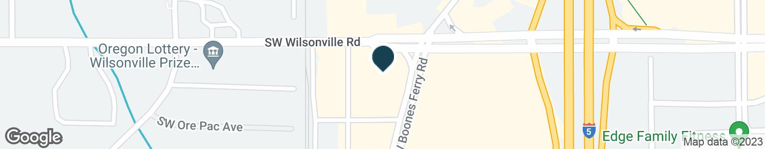 Google Map of9450 SW WILSONVILLE RD