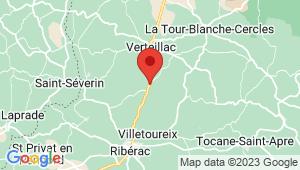 Carte de localisation du centre de contrôle technique Bertric Burée