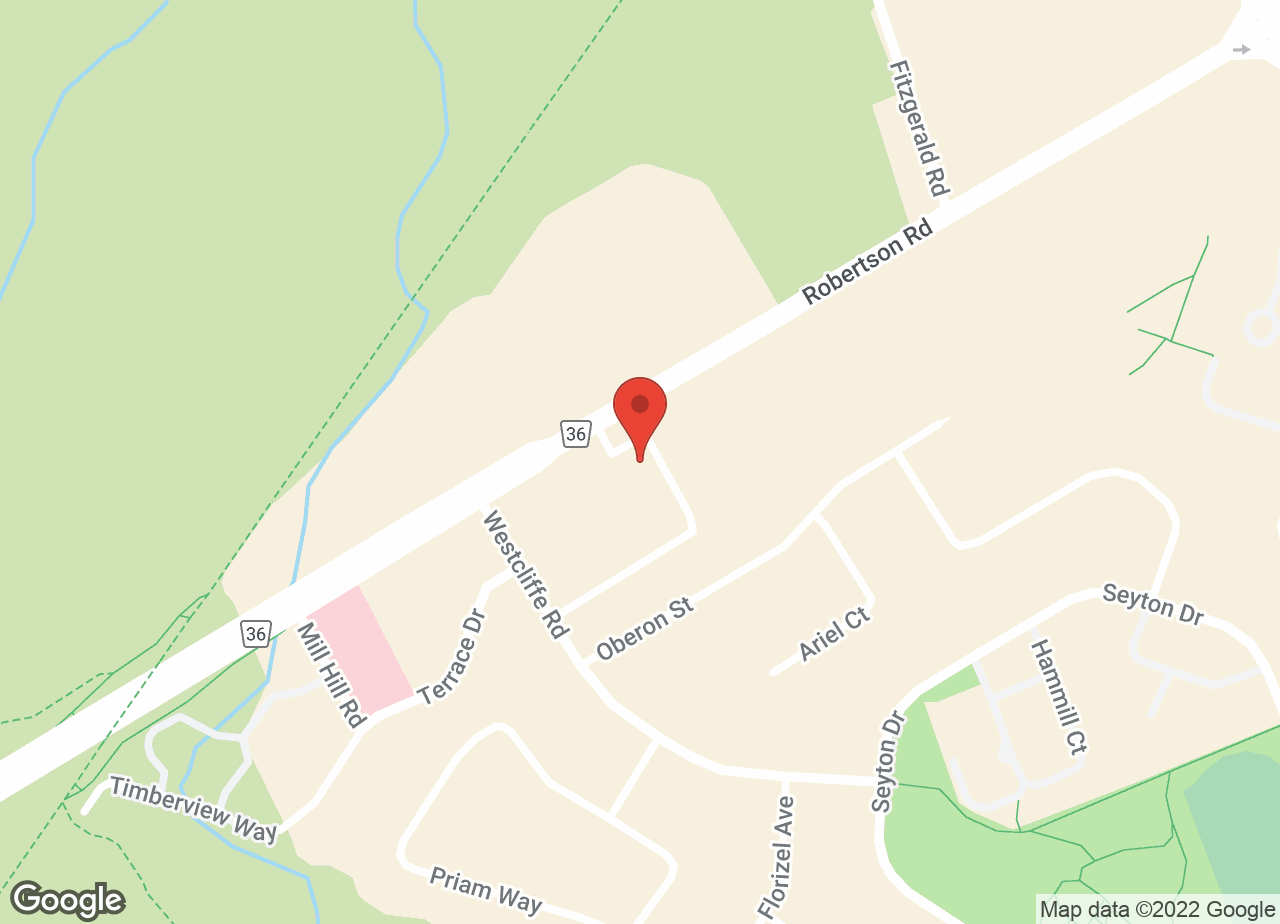 Google Map of Bells Corners Animal Hospital