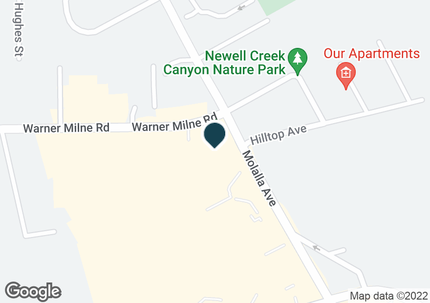 Google Map of1310 MOLALLA AVE