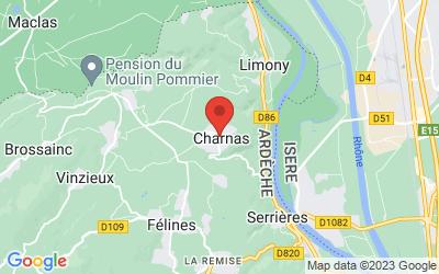 90 Rue de l'Église, 07340 Charnas, France