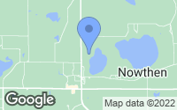 Map of Nowthen, MN