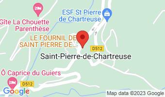 PLan de Ville 38380 Saint-Pierre-de-Chartreuse