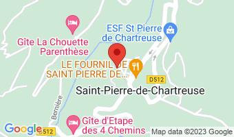 Le Plan de Ville 38380 Saint-Pierre-de-Chartreuse