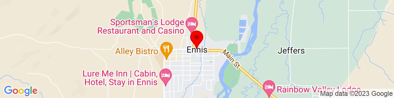 Google Map of 45.3491133, -111.7318796