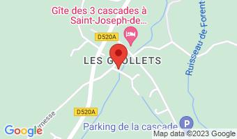 N° 75 Chemin de la cascade 38134 Saint-Joseph-de-Rivière