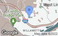 Map of West Linn, OR