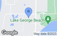 Map of Oak Grove, MN