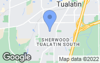 Map of Tualatin, OR
