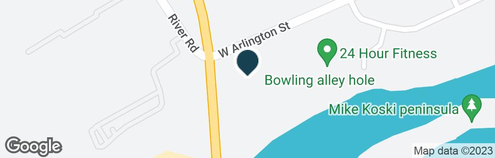 Google Map of20100 MCLOUGHLIN BLVD