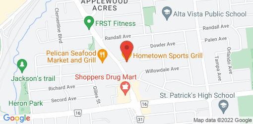 Directions to Hometown Sports Grill
