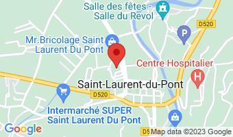 2 place du 19 mars 38380 Saint-Laurent-du-Pont