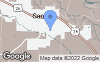 Map of Sandy, OR