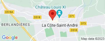 Carte Hôtel de France - Petit Paumé